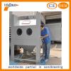 Dry sand blasting cabinet