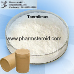 White Crystalline Solid Tacrolimus CAS:104987-11-3 Raw Steroid Powders