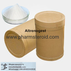 Pale Yellow Solid Altrenogest CAS:850-52-2 Pharmacetucial Raw Materials