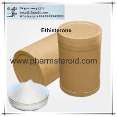 Off White Powder Ethisterone CAS:434-03-7 As A Progestogen Hormone