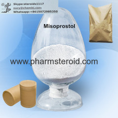 Raw Steroid Powders Misoprostol CAS:59122-46-2 For Antiulcerative