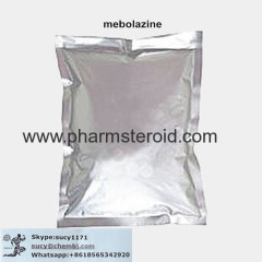 Anabolic Androgenic Steroid Of Mebolazine CAS: 3625-07-8 Raw Steroid Powders