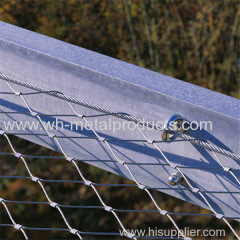 Flexible Decor Rope Net stainless steel cable netting