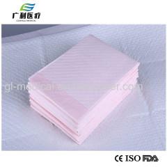 Non-woven material linen pad