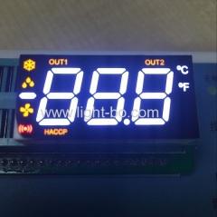 multicolor led display;custom led display;custom 7 segment;custom 3 digit