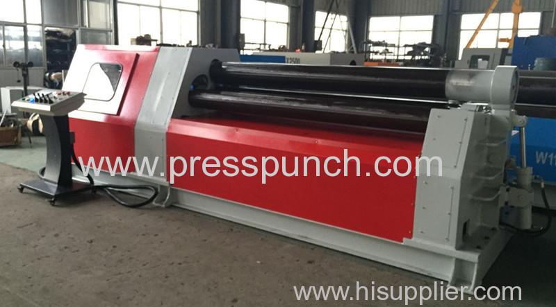 Prima company export 4 rolls bending machine W12 6*1600mm to Iraq