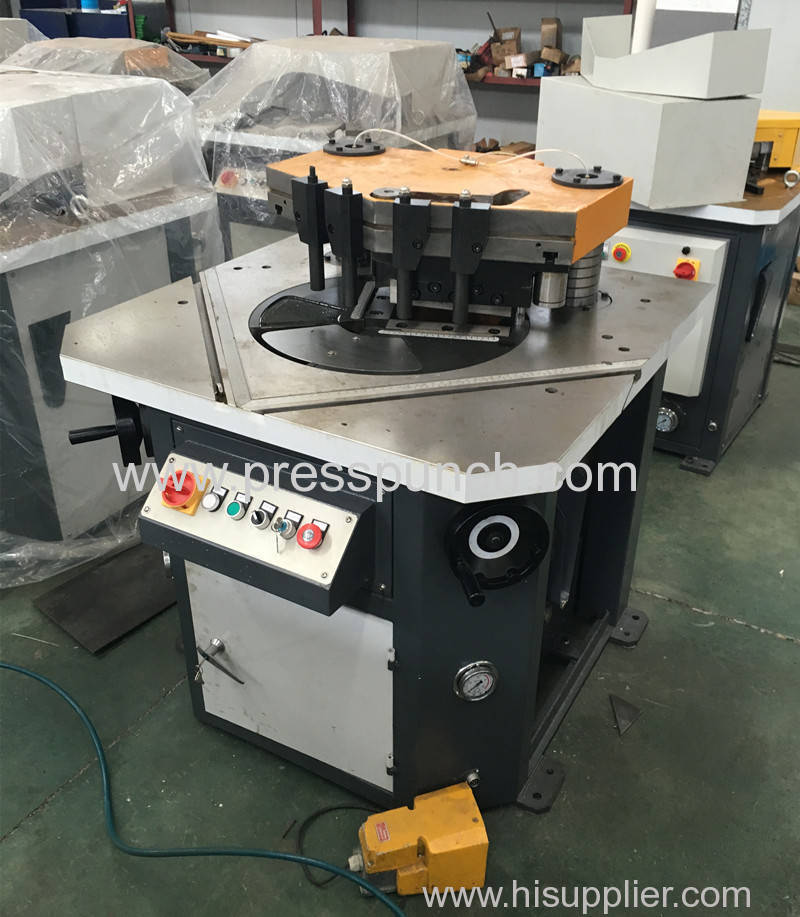 Sheet metal Variable angle notching machine exported to USA