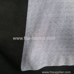 100%polyester twill bonded with micro fleece
