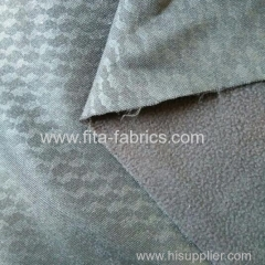 printed fabric bonded with micro fleece