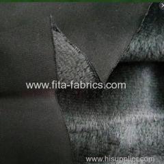 Rib Bonded with Poly Micro Plush Fleece Fabric