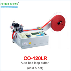 CREDIT OCEAN auto belt loop cutting machine