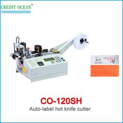 CREDIT OCEAN auto high speed woven label cutting machine