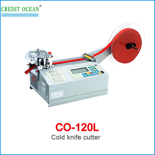 CREDIT OCEAN cold nylon webbing cutting machine