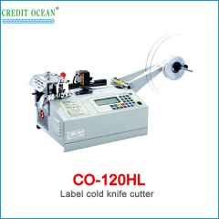 CREDIT OCEAN high speed woven label cutting machine