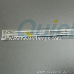 Chauffe-tube en quartz transparent