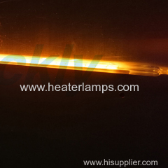quartz glass infrared radiant heater lamps for rapid thermal oven