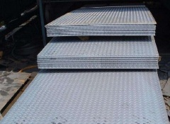 Car loading plate production