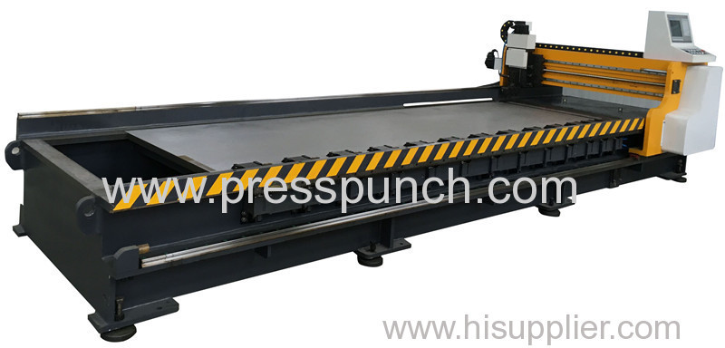 CNC V Cutting machine , Cnc v groover machine exported to Thailand