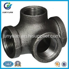High pressure malleable iron reducing tee for water supply