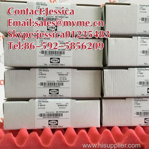 HIMA F8650E Safety System Central Module