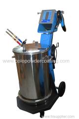Elektrostatische poedercoating spuitmachine