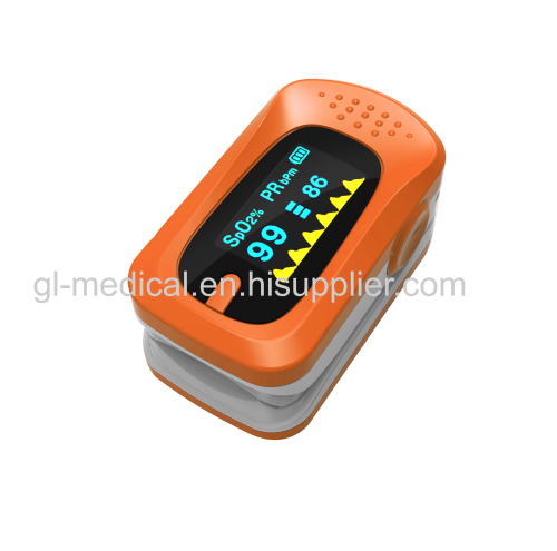 Bluetooth fingertip pulse oximeter with SPO2 parameter