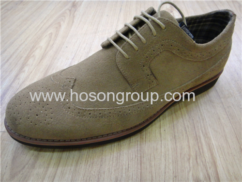 Round toe fashion lace office mens shoes
