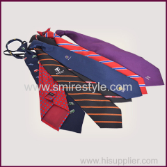 Various Ladies Cravats Woven Custom Logo Tie