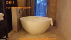 Cast stone bathtub | Dreambath