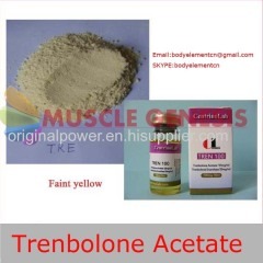 99% Powerful Dark Yellow Red Tea Steroid Powder Trenbolone Acetate