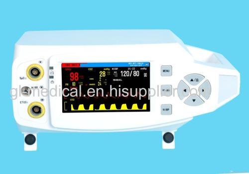 Homecare device Pulse oximeter vital signs monitor