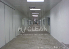 Semiconductor industry modular clean room system