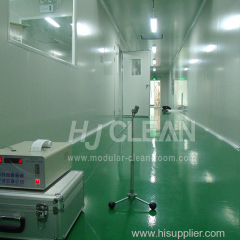 Semiconductor industry modular cleanroom system