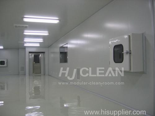 Modular clean room construction