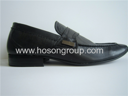 FashionPU leather mens office shoes