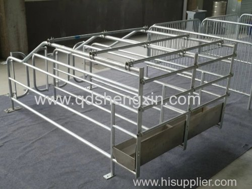 Sow Gestation Crate with hot dip galvanizing