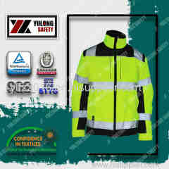 fluorescent orange high visibility clothing