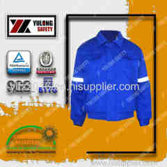 flame retardant & anti static & water proof jacket
