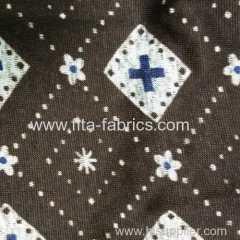 Polyester striped coarse needle fleece fabric