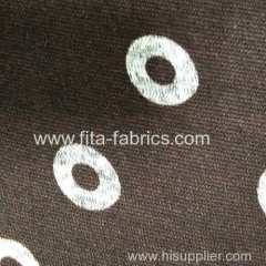 Polyester striped coarse needle fleece fabric