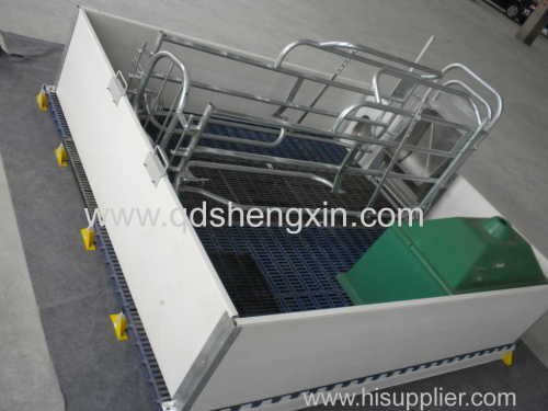 High Quality Single Farrowing Crate for pigs with PVC fence