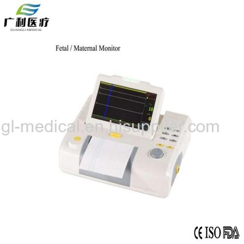 Ultrasonic fetal Doppler monitoring