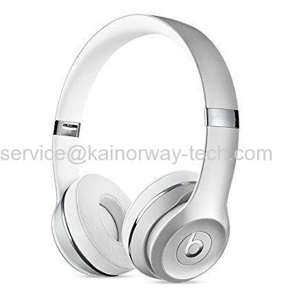 Beats Solo3 Silver Bluetooth Over-Ear Headphone Headsets With Built-in Microphone Special Edition