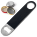 wholesale stainless steel vinyl coated beer bottle opener