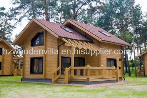 wooden decorated bungalow house