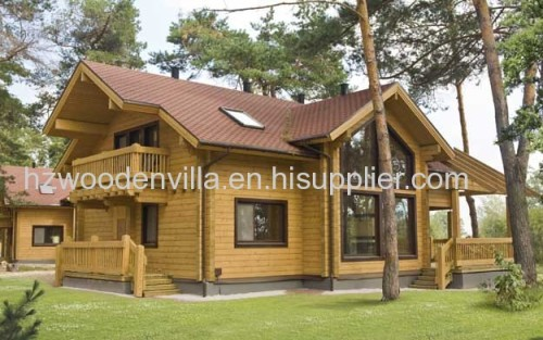 Prefabricated Wooden House Bungalow From China Manufacturer