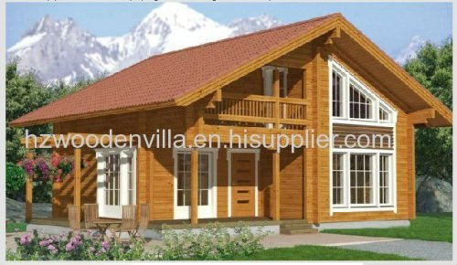 Prefabricated Wooden House Supplier Hz 008 Manufacturer From China