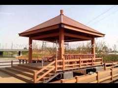 Chinese style wood garden luxury gazebo