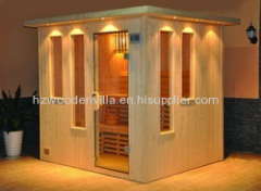 beauty salon half body sauna room