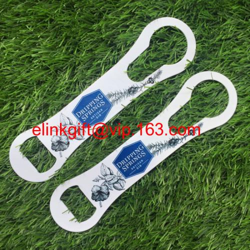 custom stainless steel beer bottle opener spout remover bottle opener